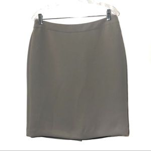 3/$25 Talbots gray pencil skirt size 10P